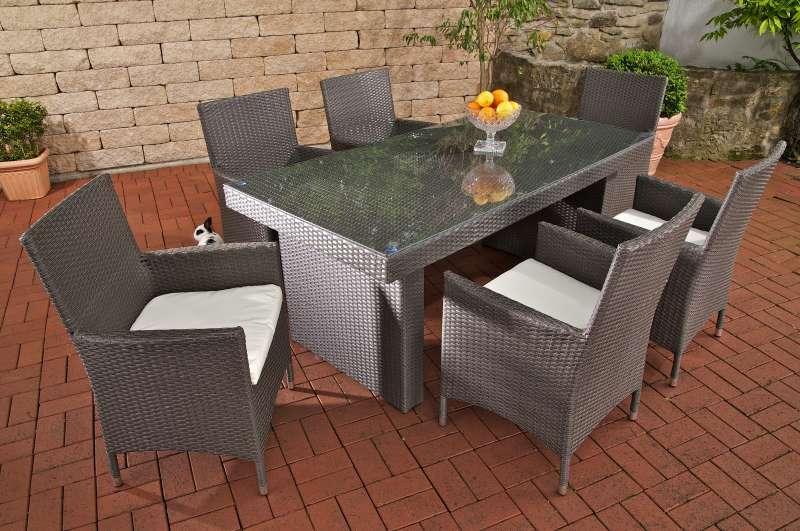 polyrattan gartenmobel grau – godsriddle, Garten und erstellen