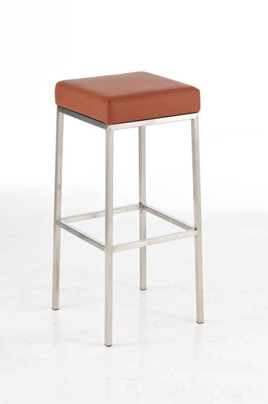 bar stool montreal faux leather stainless steel kitchen