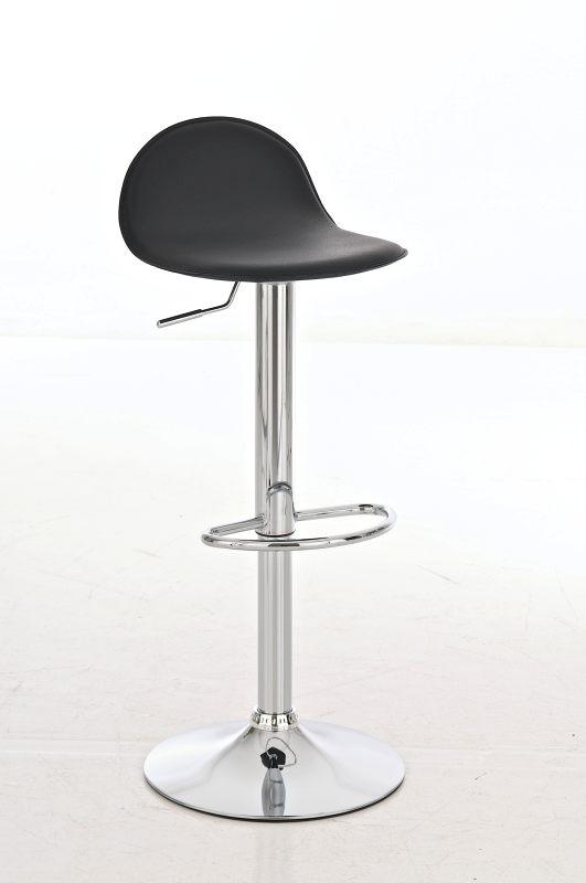 Design Barhocker Lana mit Lehne - Drehstuhl Barstuhl Bartresen ...