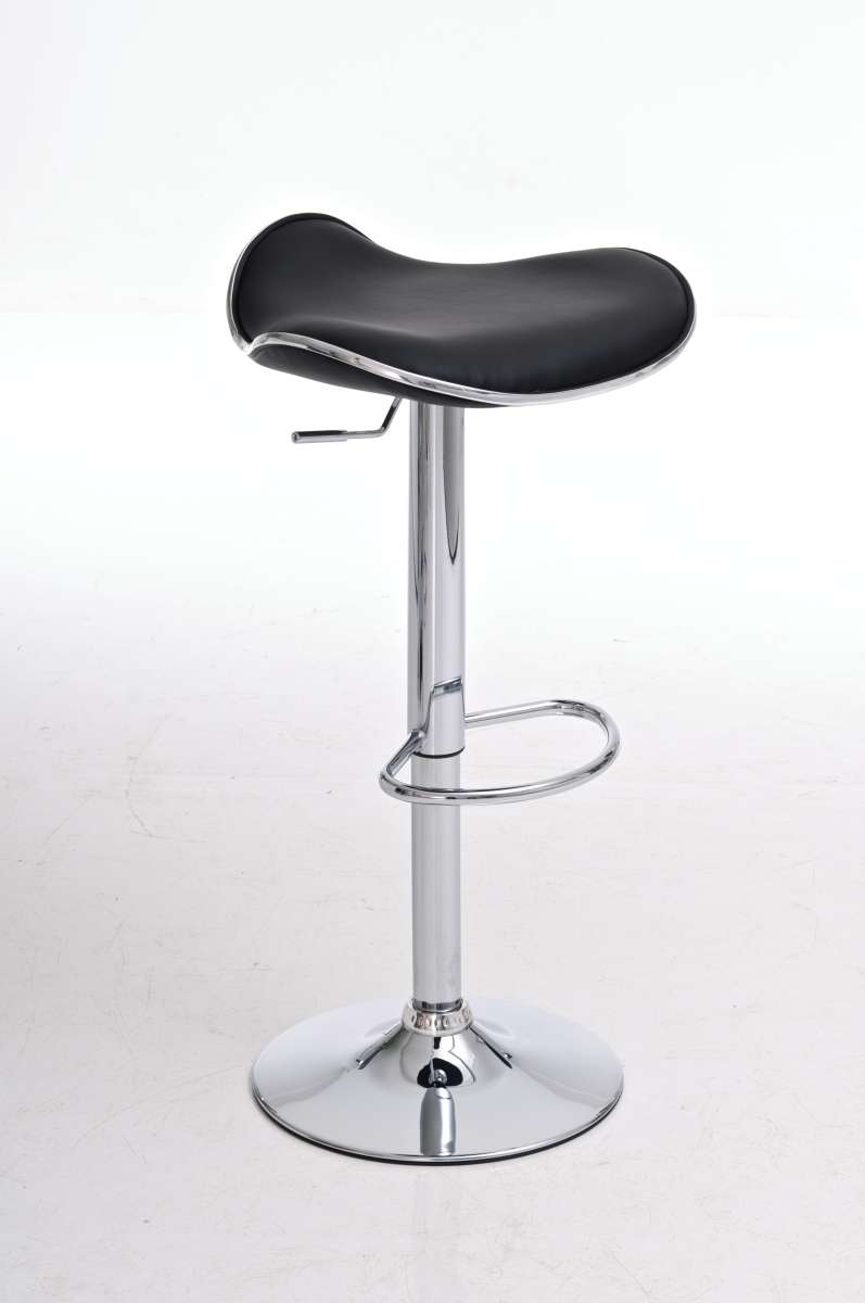 tabouret de bar shanghai simili cuir chrome fauteuil. Black Bedroom Furniture Sets. Home Design Ideas