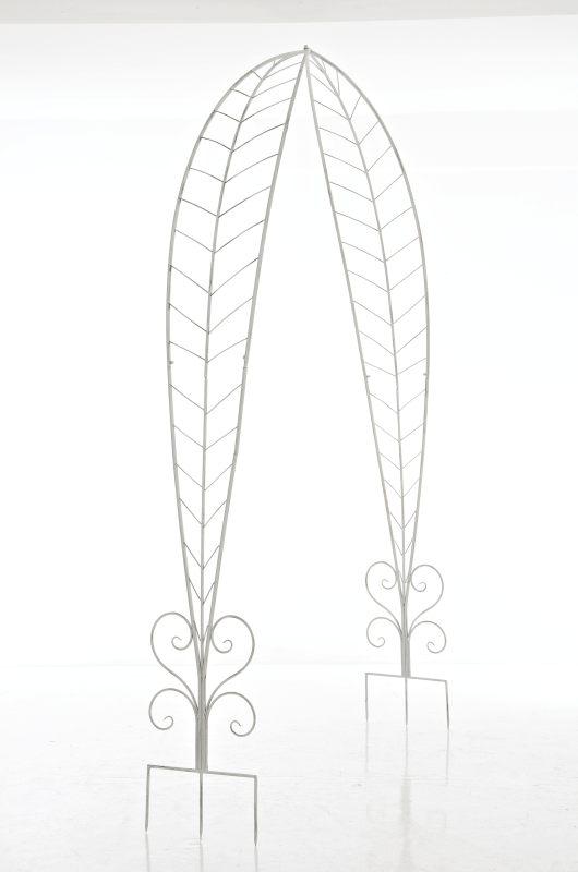 rosenbogen ellen antik weiss neu eisen pergola rankhilfe spaliere metall ebay. Black Bedroom Furniture Sets. Home Design Ideas