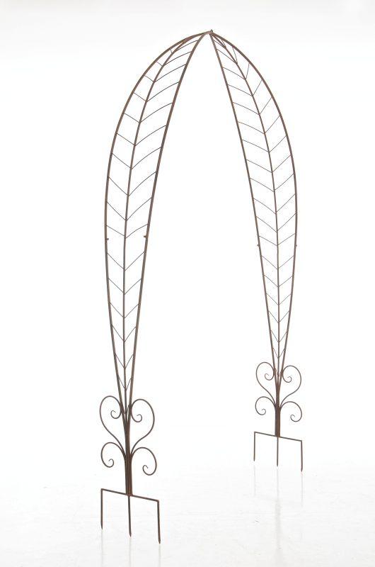 rosenbogen ellen antik braun neu eisen pergola rankhilfe. Black Bedroom Furniture Sets. Home Design Ideas