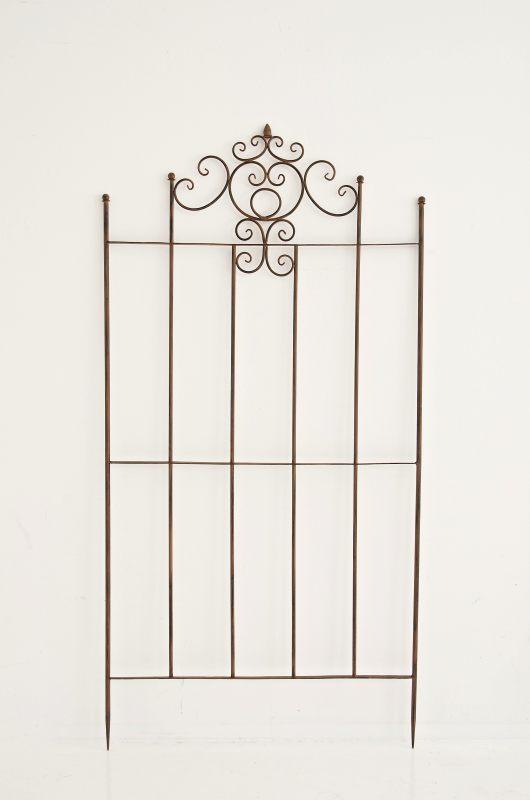 rankgitter paula antik braun neu metall rankhilfe pergola spaliere eisengitter ebay. Black Bedroom Furniture Sets. Home Design Ideas