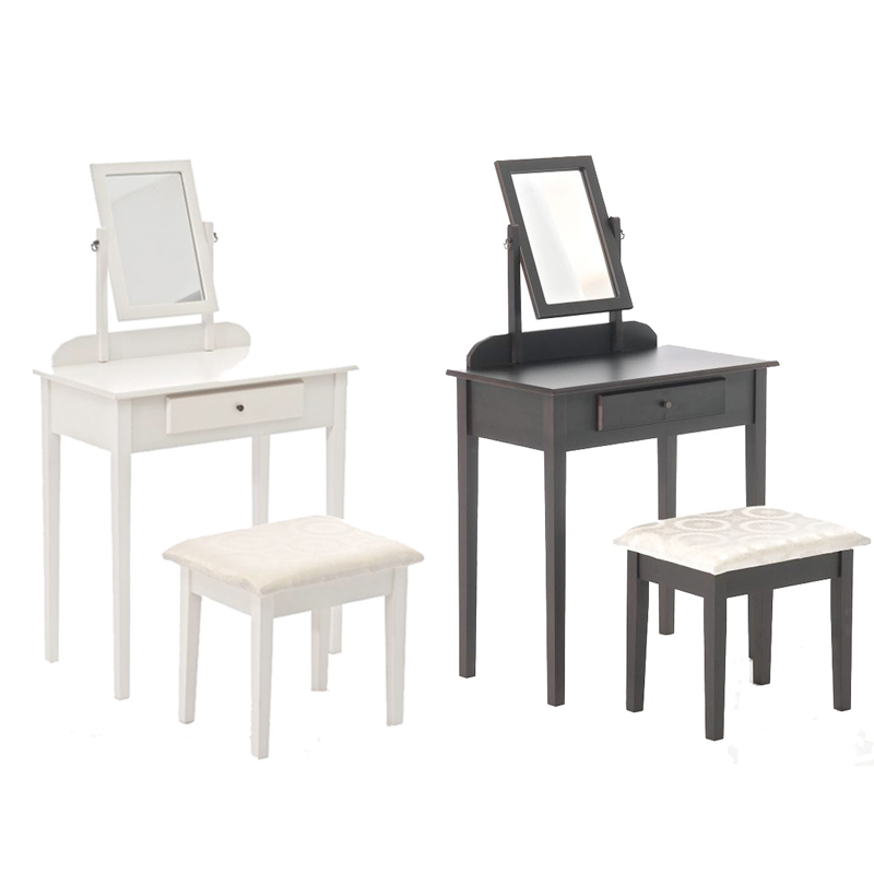 schminktisch diana mit hocker kosmetiktisch frisierkommode. Black Bedroom Furniture Sets. Home Design Ideas