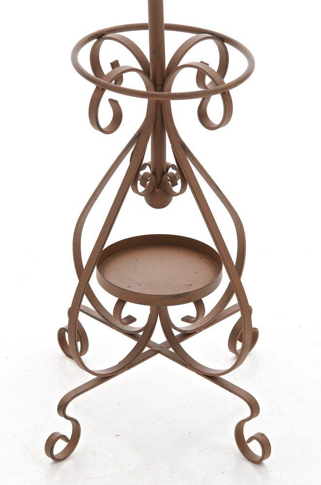 garderobenst nder lilly antik braun metall kleiderst nder. Black Bedroom Furniture Sets. Home Design Ideas