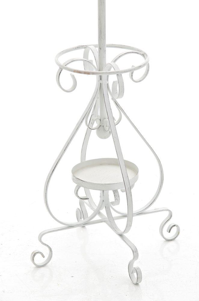 garderobenst nder lilly antik weiss metall kleiderst nder. Black Bedroom Furniture Sets. Home Design Ideas