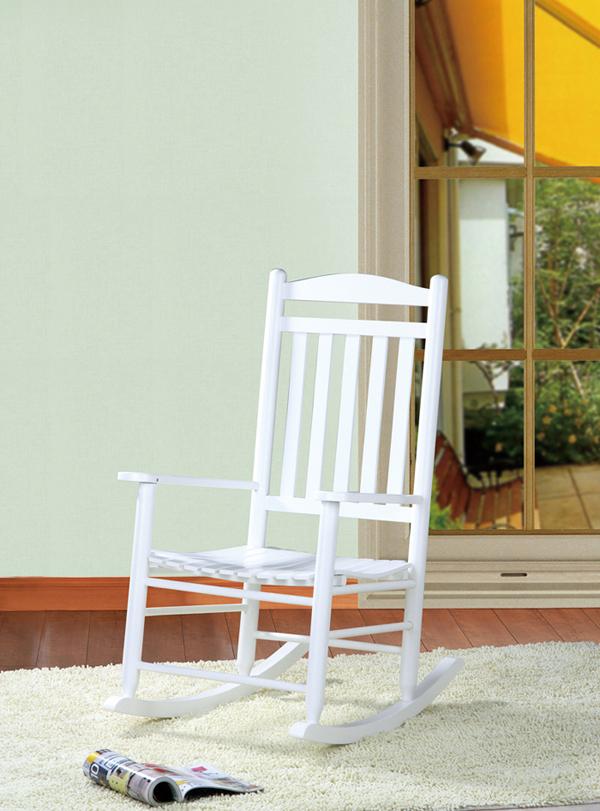schaukelstuhl diana hartholz wei stillstuhl antik sessel neu ebay. Black Bedroom Furniture Sets. Home Design Ideas