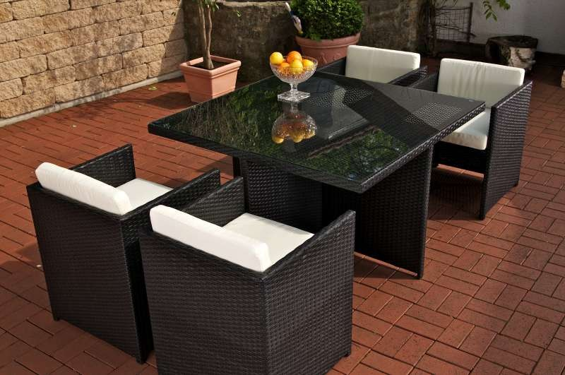 sitzgruppe sylt aus polyrattan weiss sonderposten polyrattan gartenm bel ebay. Black Bedroom Furniture Sets. Home Design Ideas
