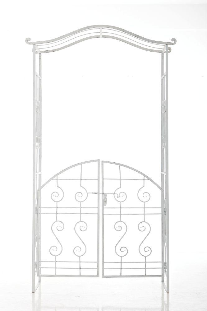 rosenbogen astia antik weiss metall rosen bogen rankhilfe spaliere pergola neu ebay. Black Bedroom Furniture Sets. Home Design Ideas