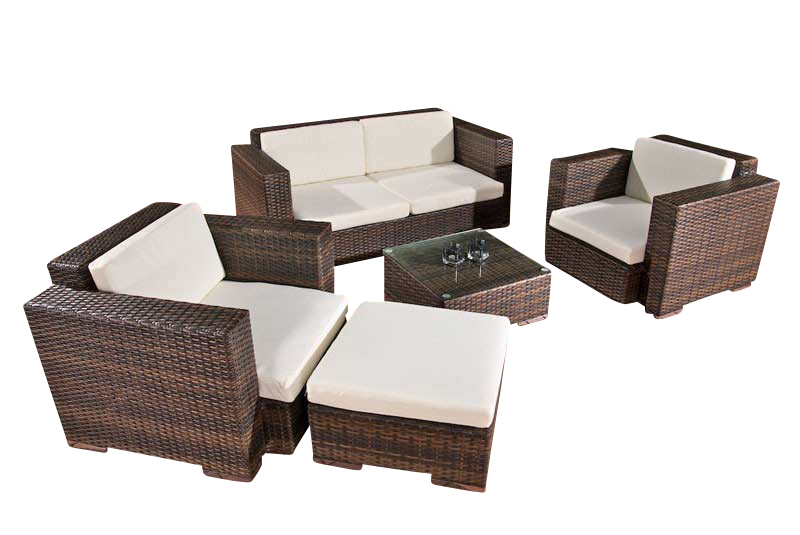 2 1 1 polyrattan gartengarnitur garten lounge rattan sitzgruppe neu ebay. Black Bedroom Furniture Sets. Home Design Ideas