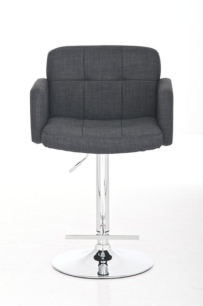 nv189 barhocker los angeles stoff grau barstuhl lounge. Black Bedroom Furniture Sets. Home Design Ideas