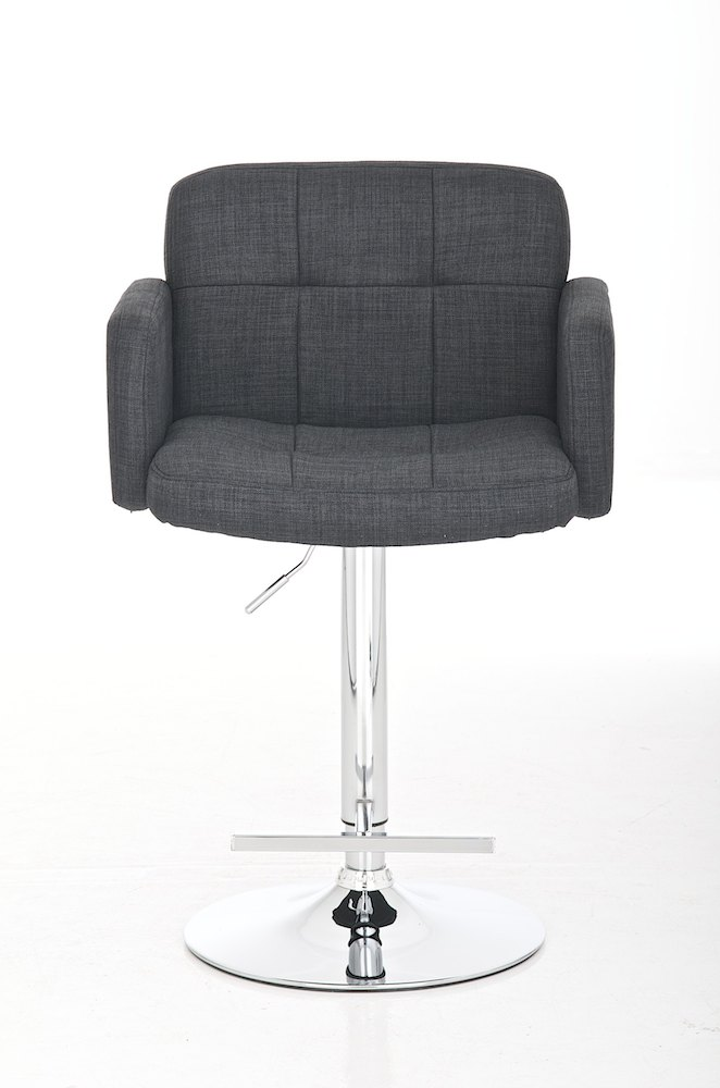 Nv189 barhocker los angeles stoff grau barstuhl lounge for Barhocker stoff grau