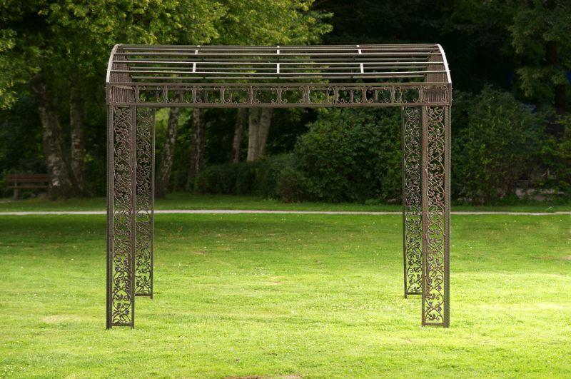 Gartenpavillon metall eckig  m# Luxus Pavillon Klassik Eckig Metall Pavillion Pergola Rankhilfe ...