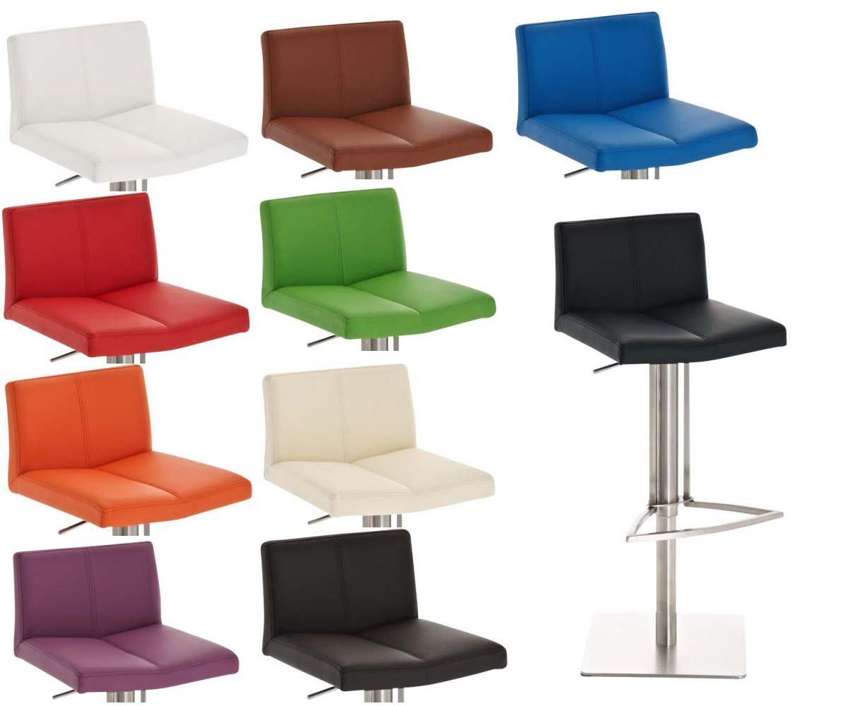 Barhocker brisbane mit farbwahl drehstuhl edelstahl for Barhocker bei ebay