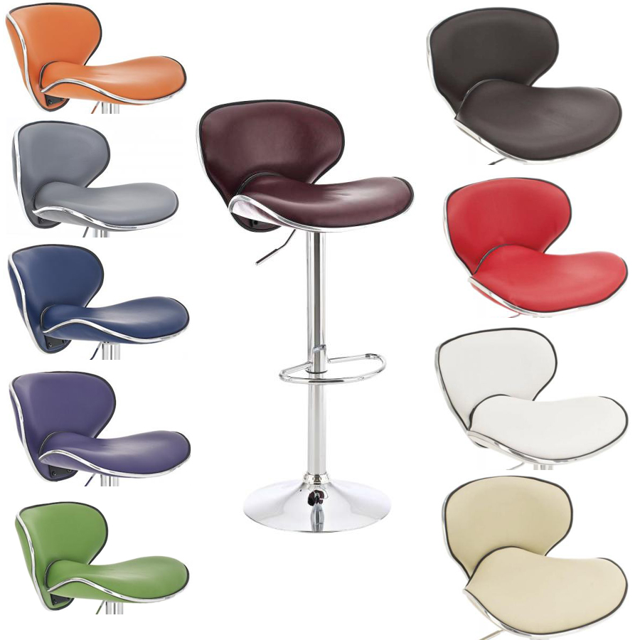 Tabouret de bar las vegas chaise fauteuil cuisine for Chaise de bar violet