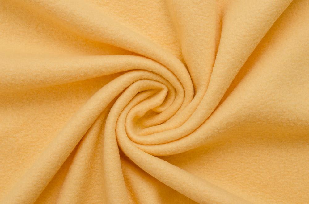 fleece stoff gelb meterware deko futter polyester blickdicht dekostoff hamburg. Black Bedroom Furniture Sets. Home Design Ideas