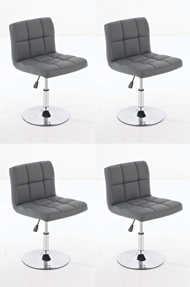 4x design lounger palma esszimmerstuhl drehstuhl barstuhl for Esszimmerstuhl drehstuhl