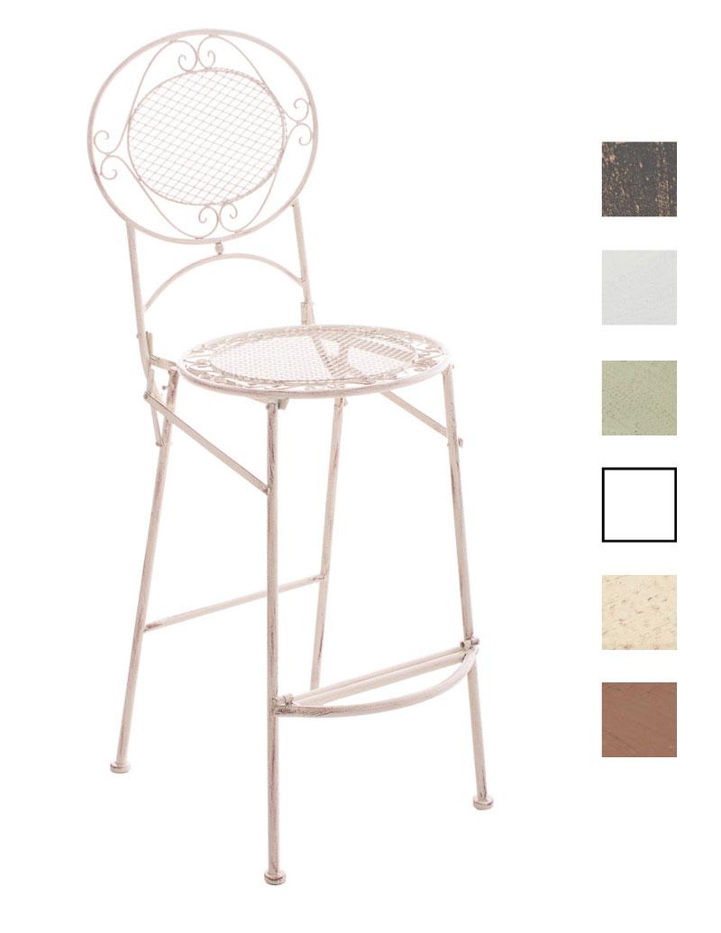 Iron Bar Stool Nadia Garden Folding High Chair Seating