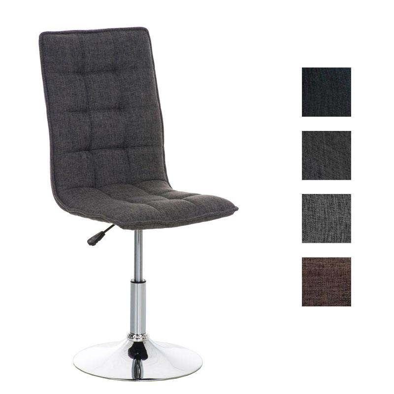 Design esszimmerstuhl peking stoff k chenstuhl stuhl drehbar h henverstellbar ebay - Esszimmerstuhl hohenverstellbar ...