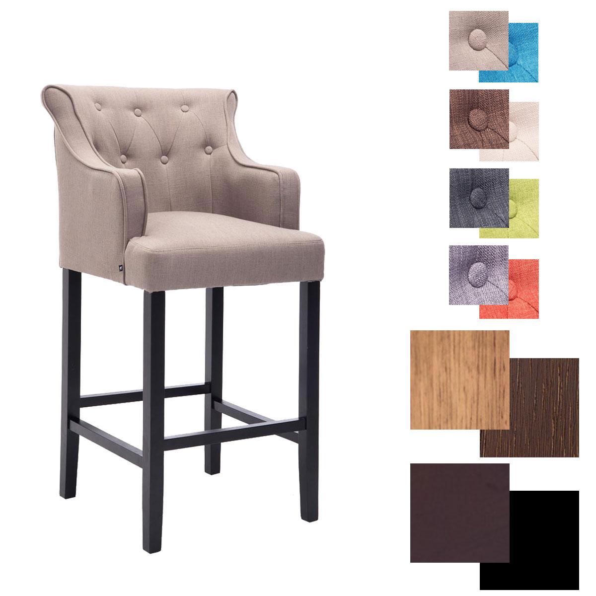 barhocker lykso mit lehne sessel tresen thekenhocker holz. Black Bedroom Furniture Sets. Home Design Ideas