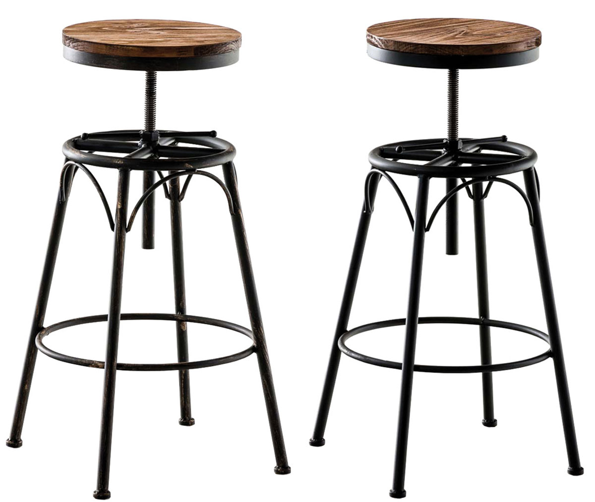 barhocker beam industrial design barstuhl tresenhocker vintage holz metall neu ebay. Black Bedroom Furniture Sets. Home Design Ideas