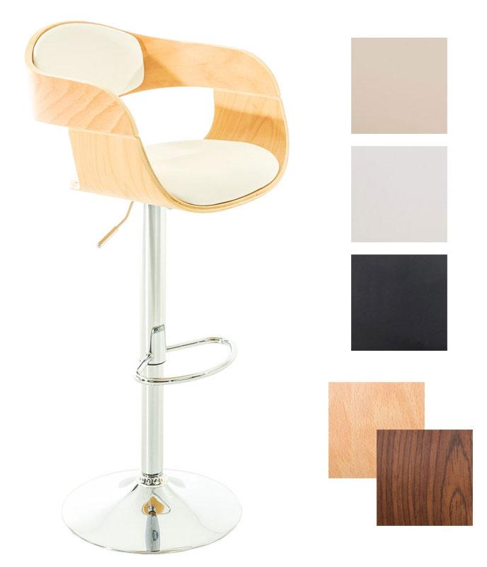 barhocker kingston thekenhocker holz tresenhocker h henverstellbar barm bel ebay. Black Bedroom Furniture Sets. Home Design Ideas