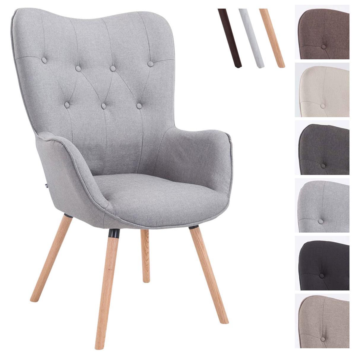 Lounger aalborg stoff ohrensessel loungesessel lehnstuhl for Polsterstuhl design