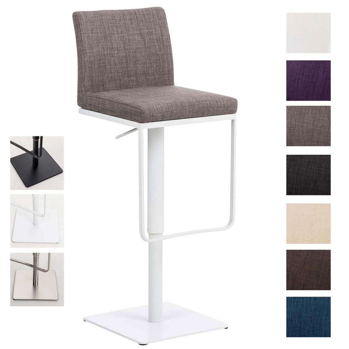 barhocker panama stoff barstuhl tresenhocker thekenhocker barstuhl drehbar ebay. Black Bedroom Furniture Sets. Home Design Ideas