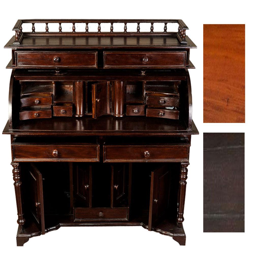 sekret r marquis mahagoni holztisch b rotisch schreibpult klapptisch rustikal ebay. Black Bedroom Furniture Sets. Home Design Ideas