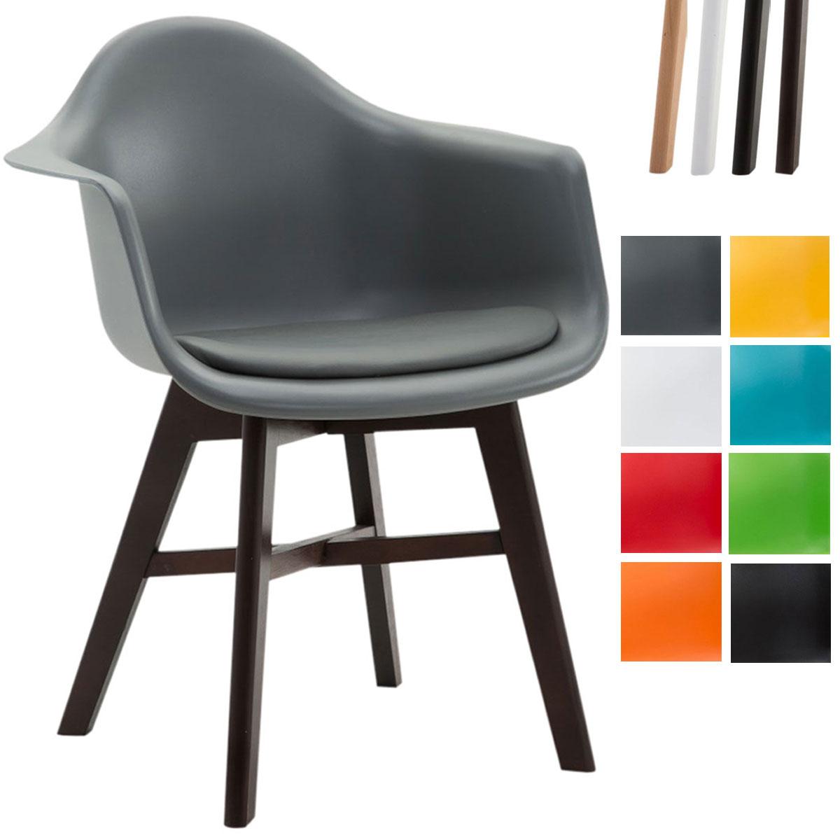 Chaise salle manger calgary similicuir bois fauteuil for Chaise visiteur