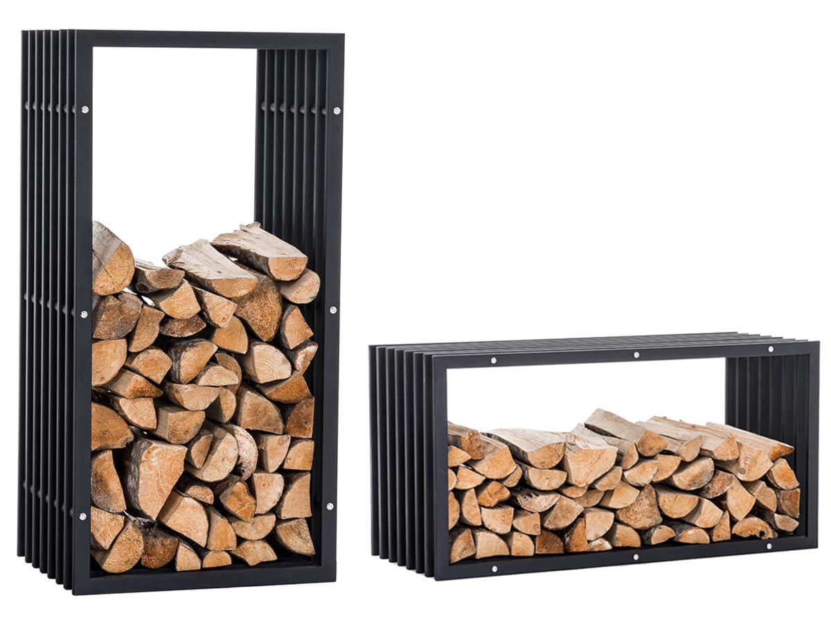stockage bois de chauffage interieur. Black Bedroom Furniture Sets. Home Design Ideas