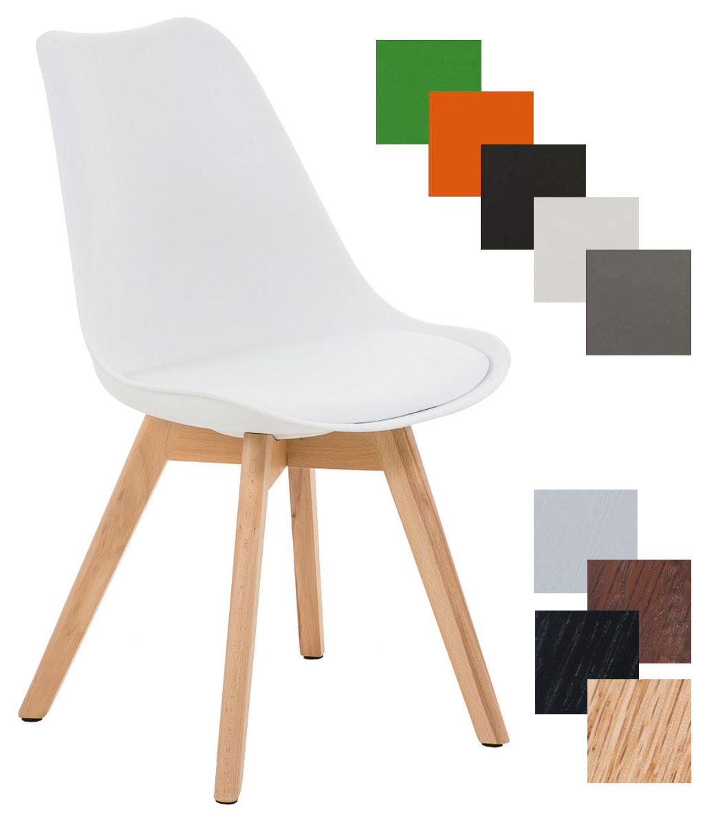 Konferenzstuhl holz  Design Besucherstuhl BORNEO Wartestuhl Loft Konferenzstuhl Holz ...