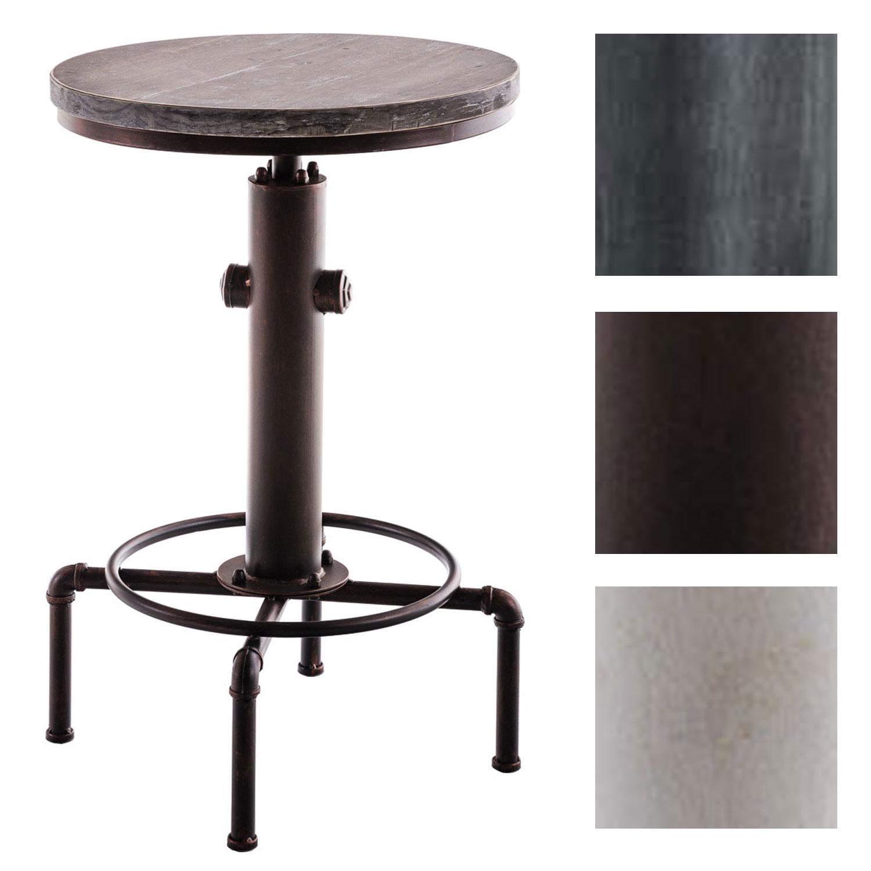 metall stehtisch lumos holz bartisch hydrant bistrotisch tisch industrie design ebay. Black Bedroom Furniture Sets. Home Design Ideas